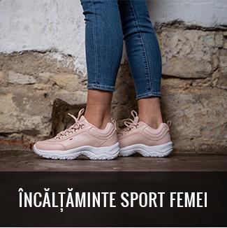 ÎNCĂLȚĂMINTE SPORT FEMEI