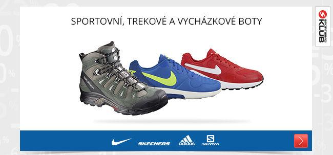 Sportovní a vycházkové boty