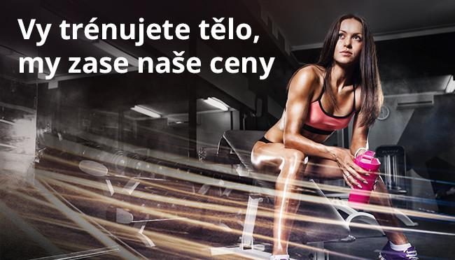 Vy trénujete tělo, my zase naše ceny