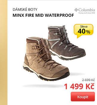 MINX FIRE MID WATERPROOF