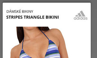 STRIPES TRIANGLE BIKINI