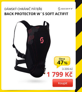 BACK PROTECTOR W´S SOFT ACTIFIT