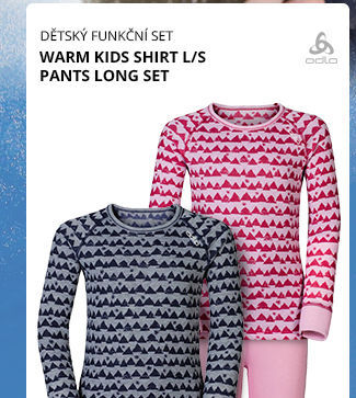 WARM KIDS SHIRT L/S PANTS LONG SET