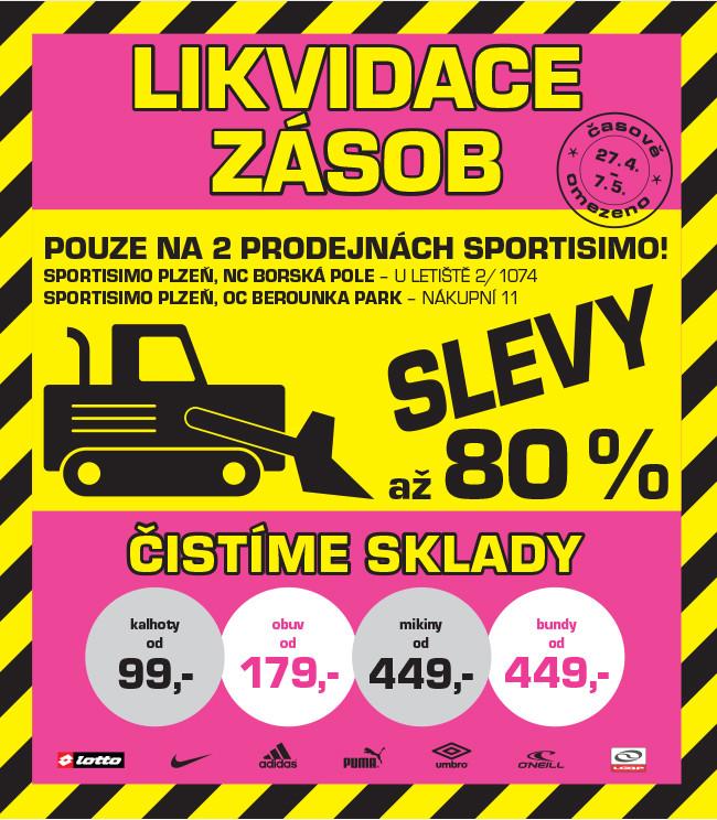 fd8b2312851 LIKVIDACE na vybraných prodejnách v Plzni. SLEVY až 80 ...