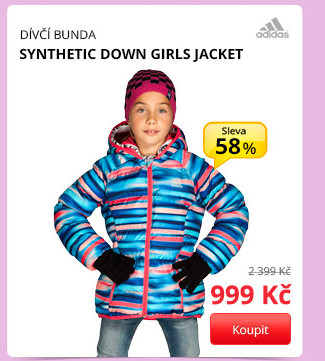 SYNTHETIC DOWN GIRLS JACKET