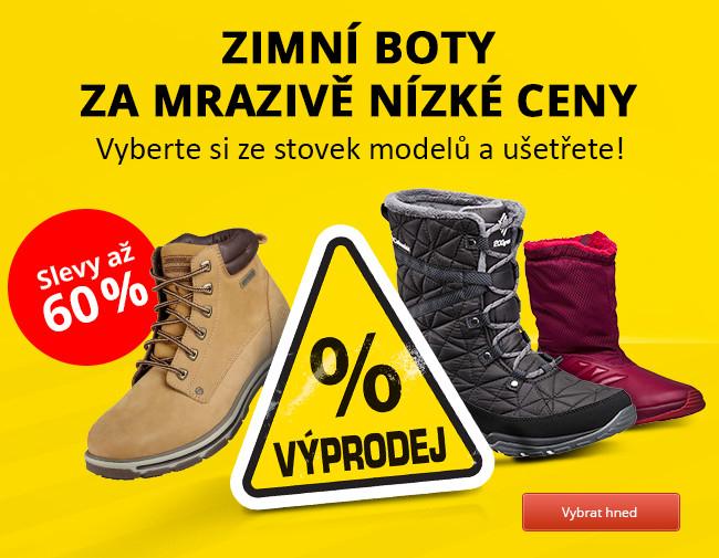 VÝPRODEJ zimních bot  Až 60% SLEVY na 300 modelů. Vybírejte ... 63a7ca9320