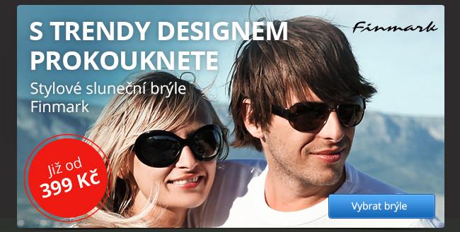 Stylové sluneční brýle Finmark