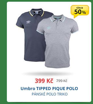 Umbro TIPPED PIQUE POLO