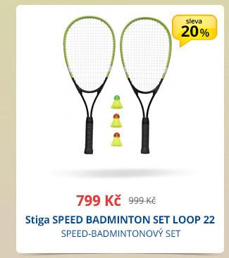Stiga SPEED BADMINTON SET LOOP 22