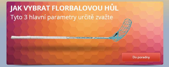 Jak vybrat florbalovou hůl