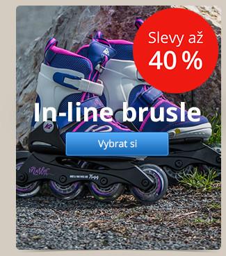 In-line brusle – slevy až 40 %