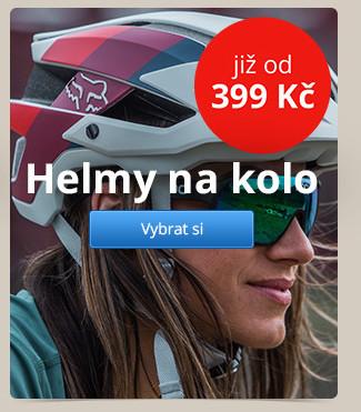Helmy na kolo – již od 399 Kč