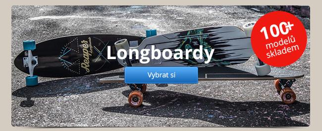 Longboardy – 100+ modelů skladem