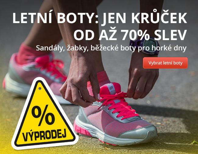 Letní boty: Jen krůček od až 70% slev