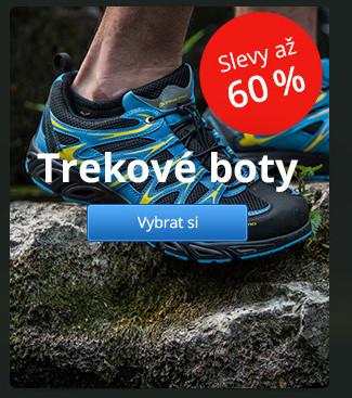 Trekové boty – slevy až 60 %