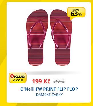 O'Neill FW PRINT FLIP FLOP