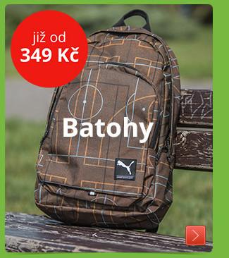 Batohy již od 349 Kč