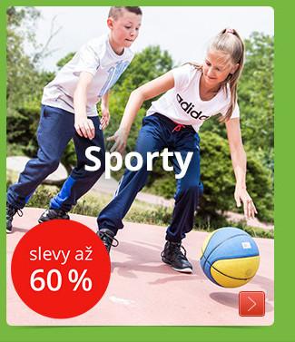 Sporty slevy až 60%