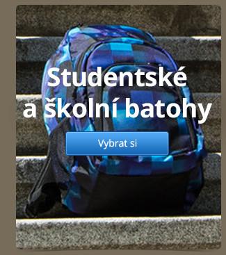 Studentské a školní batohy