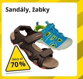 Sandály, žabky