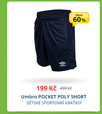 Umbro POCKET POLY SHORT