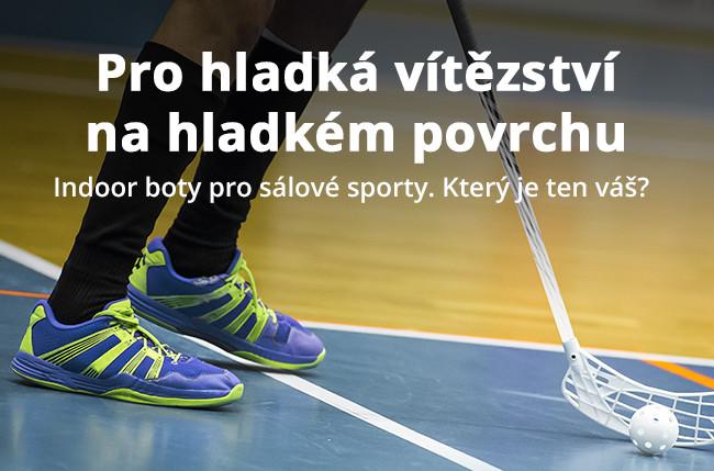Indoor boty pro sálové sporty