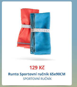 Runto Sportovní ručník 65×90 cm