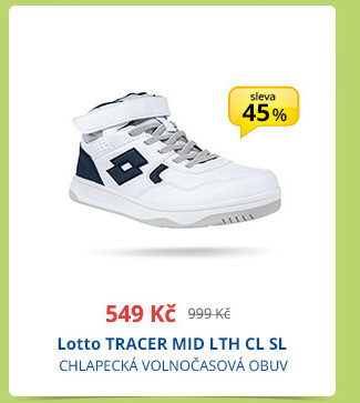 Lotto TRACER MID LTH CL SL