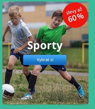 Sporty – slevy až 60 %