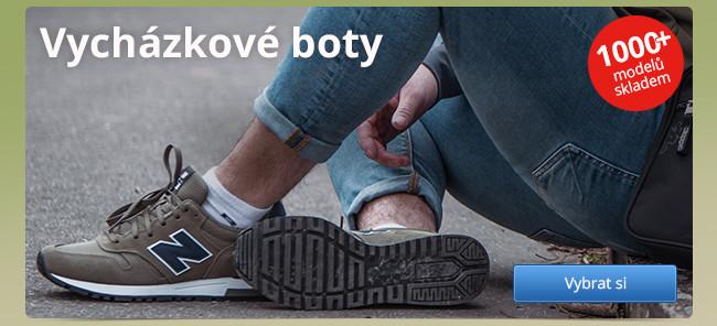 Vycházkové boty – 1000+ modelů skladem