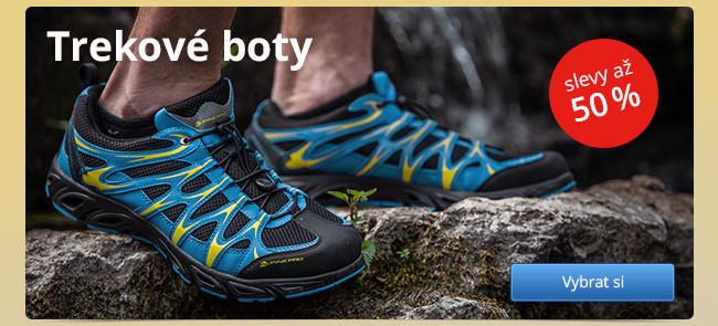 Trekové boty – slevy až 50 %