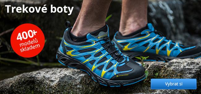 Trekové boty – 400+ modelů skladem