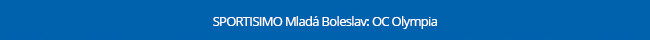 SPORTISIMO Mladá Boleslav: OC Olympia