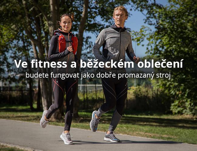 Ve fitness a běžeckém oblečení budete fungovat jako dobře promazaný stroj