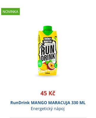 RunDrink MANGO MARACUJA 330 ML
