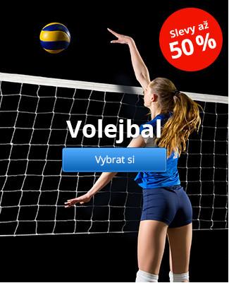 Volejbal slevy až 50%
