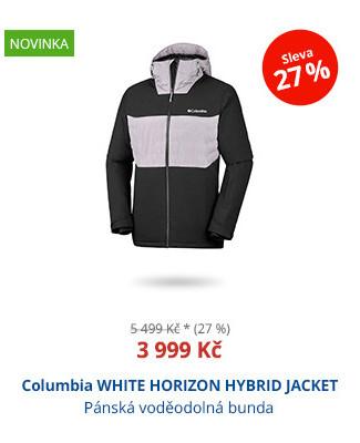 Columbia WHITE HORIZON HYBRID JACKET