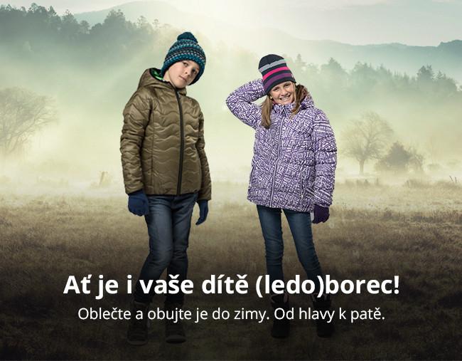 Oblečte a obujte děti do zimy. Od hlavy k patě.