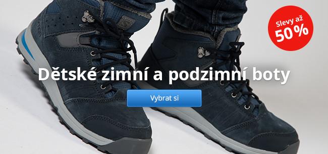 Dětské zimní a podzimní boty – slevy až 50 %