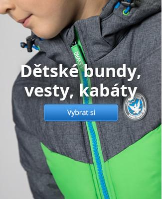 Dětské bundy, vesty, kabáty