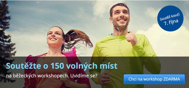 Soutěžte o 150 volných míst na běžeckých workshopech.