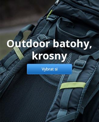 Outdoor batohy, krosny