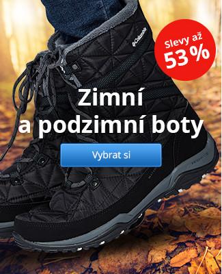 Zimní a podzimní boty – slevy až 53 %