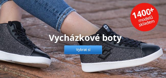 Vycházkové boty – 1400+ modelů skladem