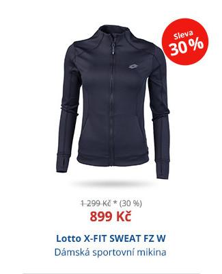 Lotto X-FIT SWEAT FZ W