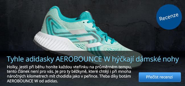 Recenze běžeckých bot adidas AEROBOUNCE W