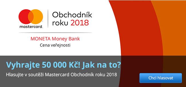Obchodník roku 2018 – hlasujte a hrajte o 50 000 Kč
