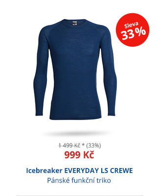Icebreaker EVERYDAY LS CREWE