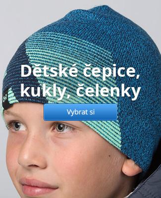 Dětské čepice, kukly, čelenky
