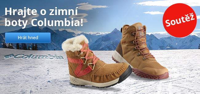 Hrajte o zimní boty Columbia!